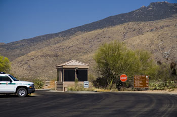 Saguaro National Park East Entrance Station Photo