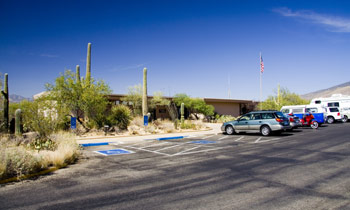Visitor Centers at Saguaro National Park