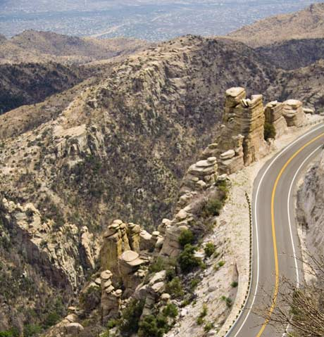 Catalina Highway Mount Lemmon Photo