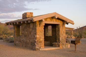 Signal Hill Picnic Area Photo Saguaro National Park West